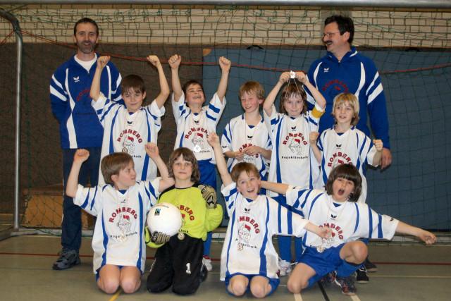 F-Junioren Hallenkreismeister 2008