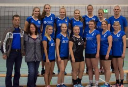Volleyball-Damen 2 mit Sponsoren