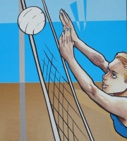Volleyball, Luxemburg, 2002