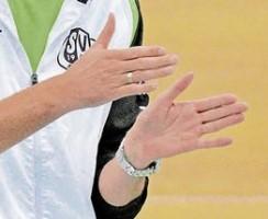 Der Sander Trainer Markus Brockhoff