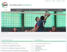 Homepage Volleyballkreis Paderborn