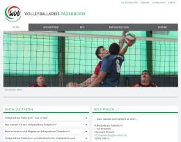 Homepage Volleyballkreis Paderborn