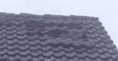 Loch im Dach