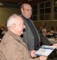 Ehrungen für 60 Jahre treue Mitgliedschaft