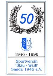 50 Jahre SV Sande